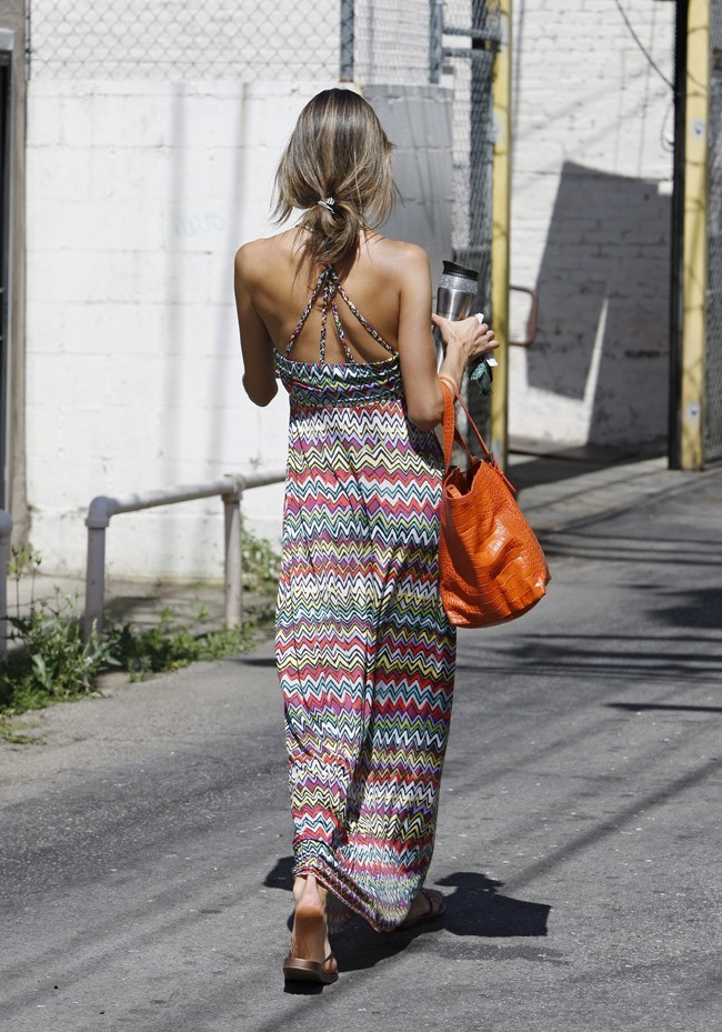Alessandra Ambrosio à Los Angeles le 19 juin 2013