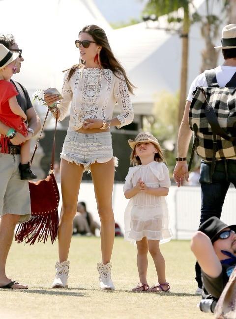 Alessandra Ambrosio, au top à Coachella !