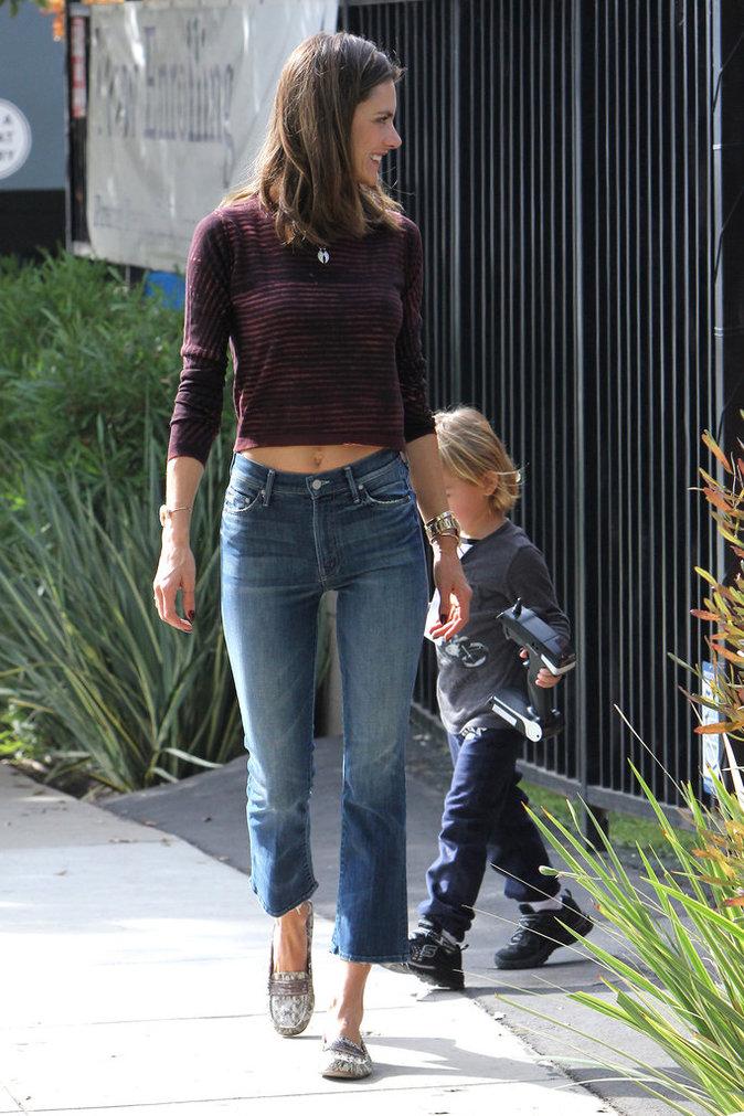 Photos : Alessandra Ambrosio, so cute avec son baby-boy