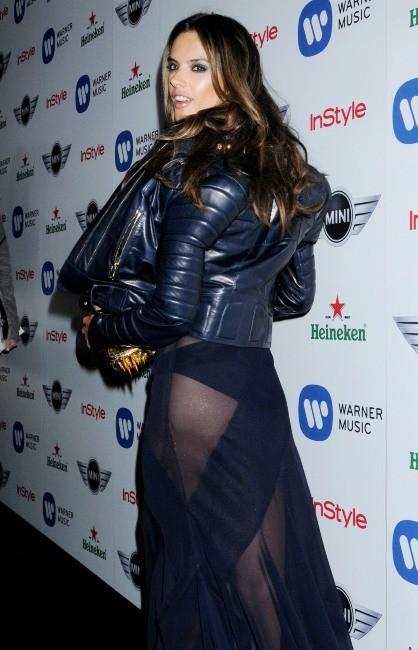 Alessandra Ambrosio le 10 février 2013 à Los Angeles