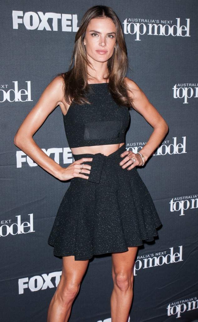 Alessandra Ambrosio le 1er octobre 2014