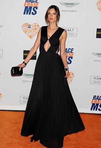 Alessandra Ambrosio à Los Angeles le 2 mai 2014