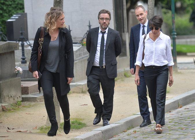 Photos : Alessandra Suble: le monde de la télé dit au revoir à Emmanuel Maubert