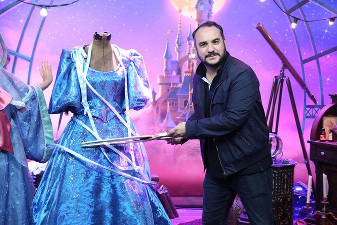 Frnaçois-Xavier Demaison lors du lancement du nouveau spectacle de Disneyland Paris, le 2 juillet 2016.
