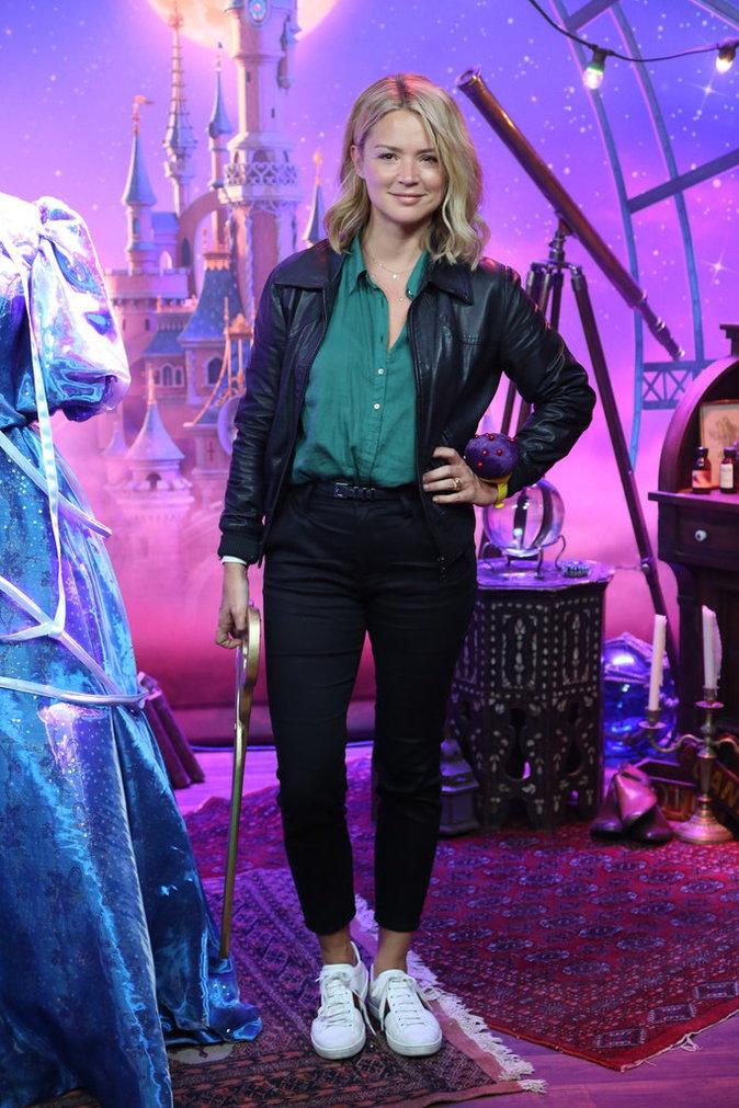 Virginie Efira lors du lancement du nouveau spectacle de Disneyland Paris, le 2 juillet 2016.