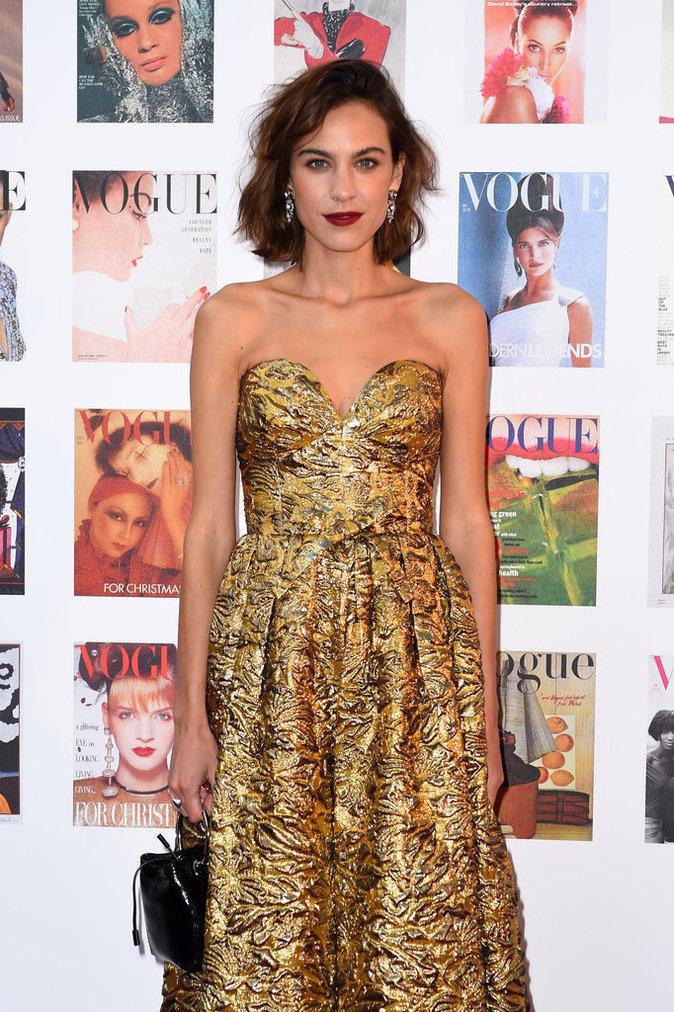 Photos : Alexa Chung : pluie de mannequins au Gala Vogue !