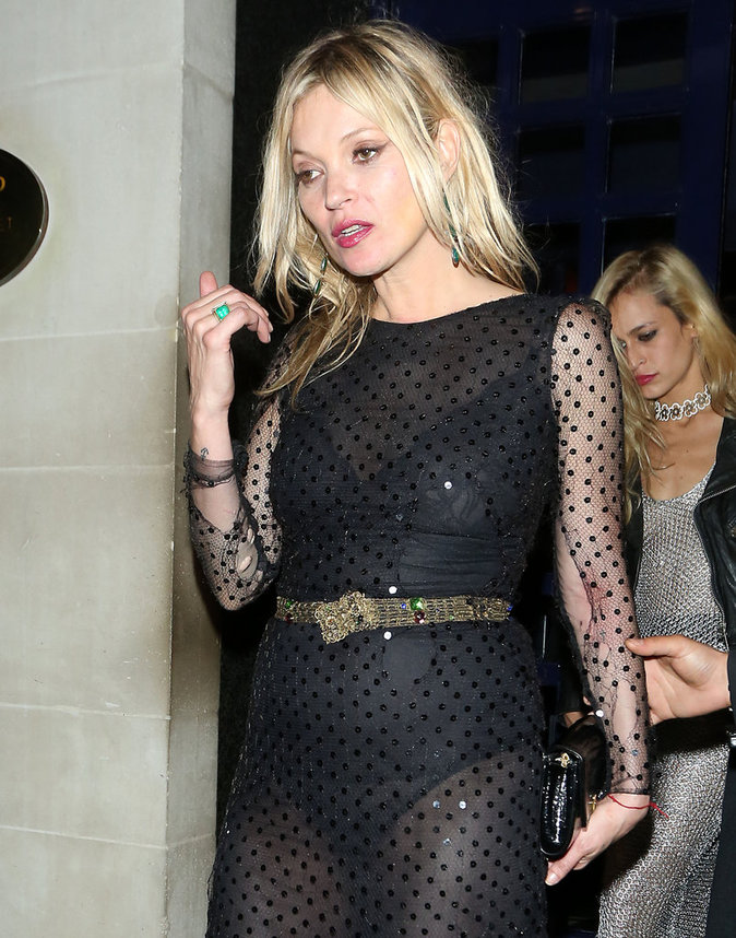 Photos : Kate Moss : pluie de mannequins au Gala Vogue !