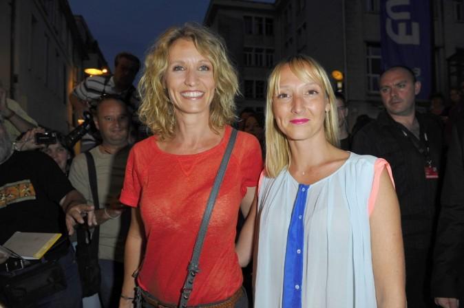Alexandra et Audrey Lamy le 27 août 2012 à Angoulême