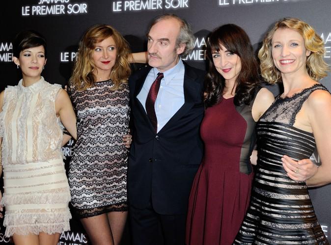 Mélanie Doutey, Julie Ferrier, Michel Vuillermoz, Mélissa Drigeard et Alexandra Lamy à Paris le 19 décembre 2013