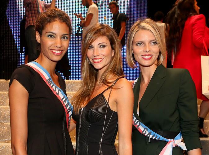Chloé Mortaud, Alexandra Rosenfeld et Sylvie Tellier à Paris le 27 septembre 2014