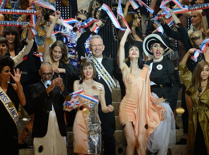 Jean-Paul Gaultier à Paris le 27 septembre 2014