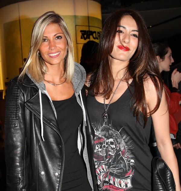 Alexandra Rosenfeld et Sofia Essaidi à la soirée Universal Music au Citadium le 5 juin 2012