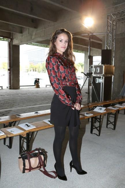 Alice David, Paris, 26 septembre 2012.