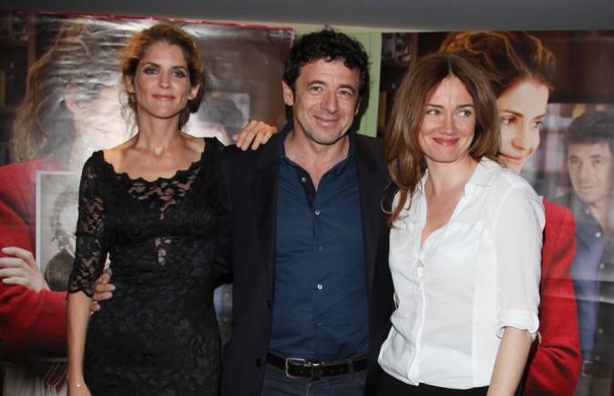 Alice Taglioni, Patrick Bruel et Marine Delterme le 16 juillet 2012 à Paris