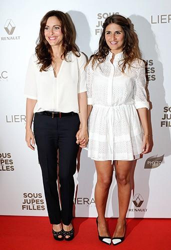 Audrey Dana et Géraldine Nakache à Paris le 2 juin 2014