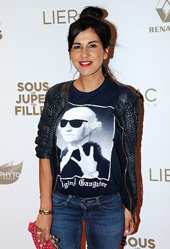 Reem Kherici à Paris le 2 juin 2014