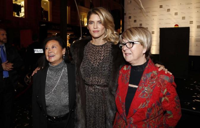 Alice Taglioni et Marie-Hélène Nguyen à Paris le 18 novembre 2014