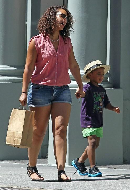 Alicia keys et son beau-fils Kassem !