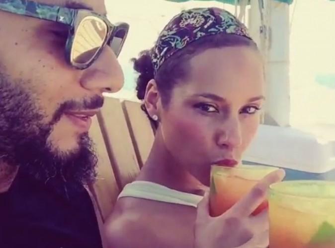 Alicia Keys d�gaine son titre pour Levi's avant de prendre le large avec ses hommes !