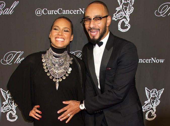 Alicia Keys : sa grossesse, un nouveau bonheur qu'elle partage � 100% avec Swizz Beatz !