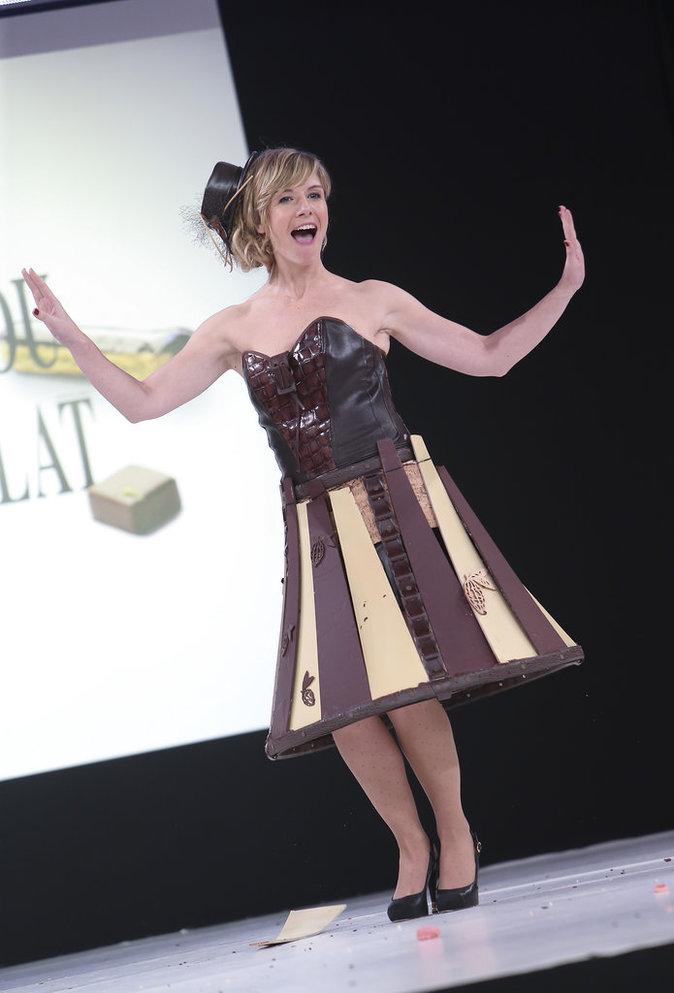 L'animatrice télé Louise Ekland