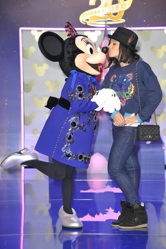 Alizée, Disneyland Paris, 23 mars 2013.