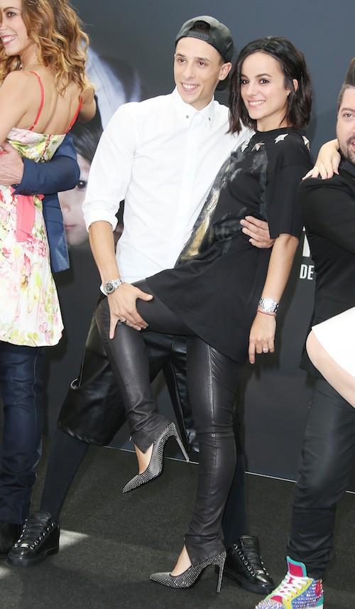 Alizée et Grégoire Lyonnet au Festival de Monte-Carlo, le 14 juin 2015