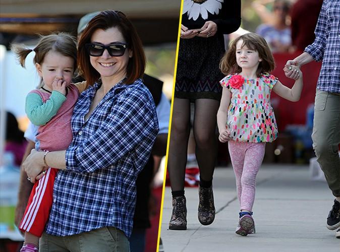 Alyson Hannigan : ses petites filles ont encore bien grandi !
