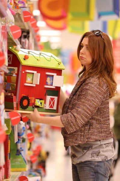 Alyson Hannigan le 23 décembre 2012 à Los Angeles