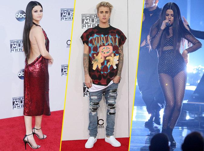 Selena Gomez et Justin Bieber le 22 novembre 2015