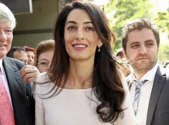 Photos : Amal Alamuddin : retour au travail pour madame Clooney !