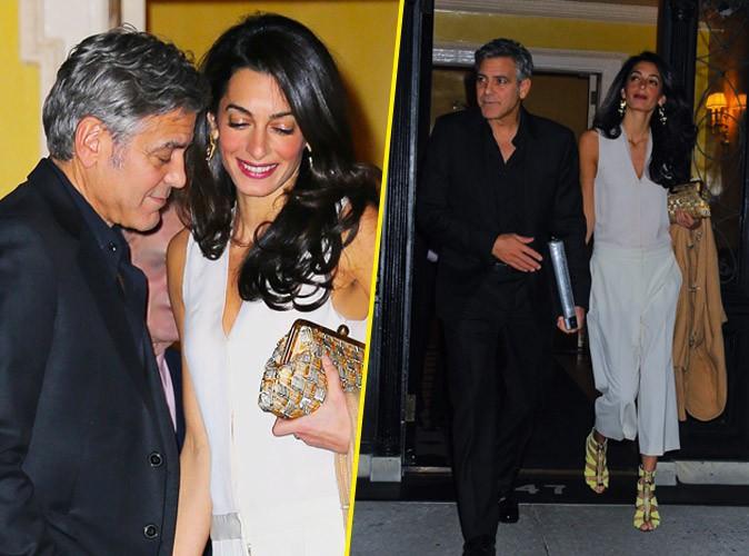Photos : Amal Clooney : amoureuse et stylée, elle vole encore la vedette à George !