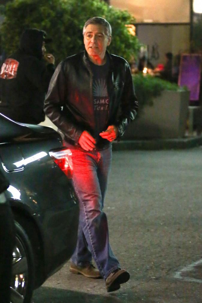 George Clooney le 14 décembre 2014