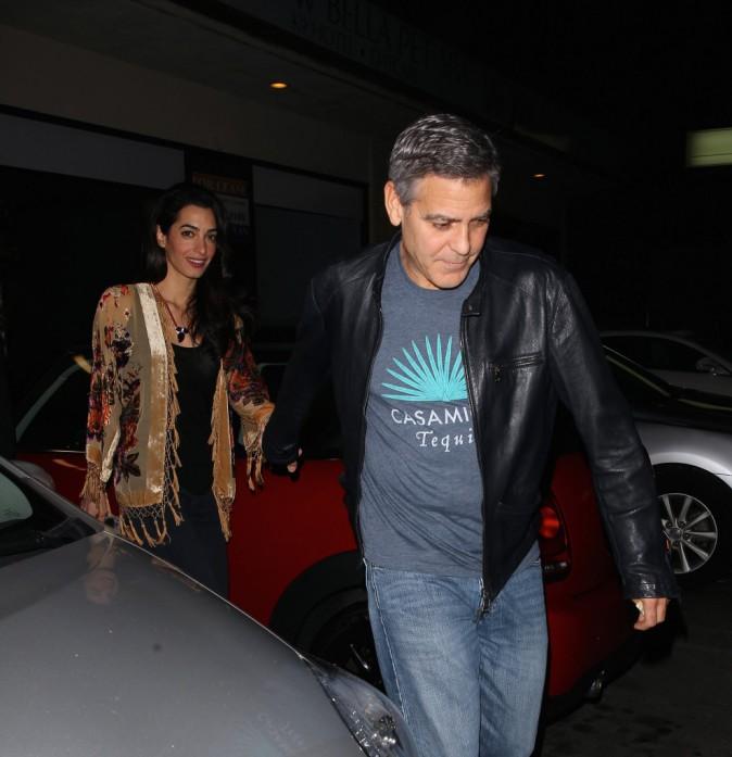 George et Amal Clooney le 14 décembre 2014