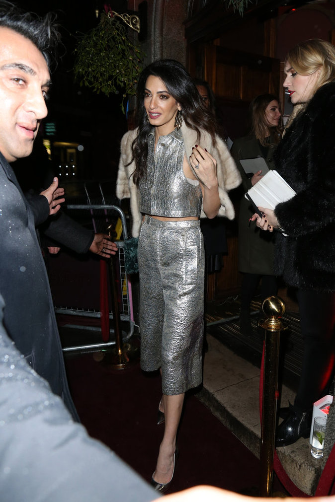 Photos : Amal Clooney : toujours aussi brillante !