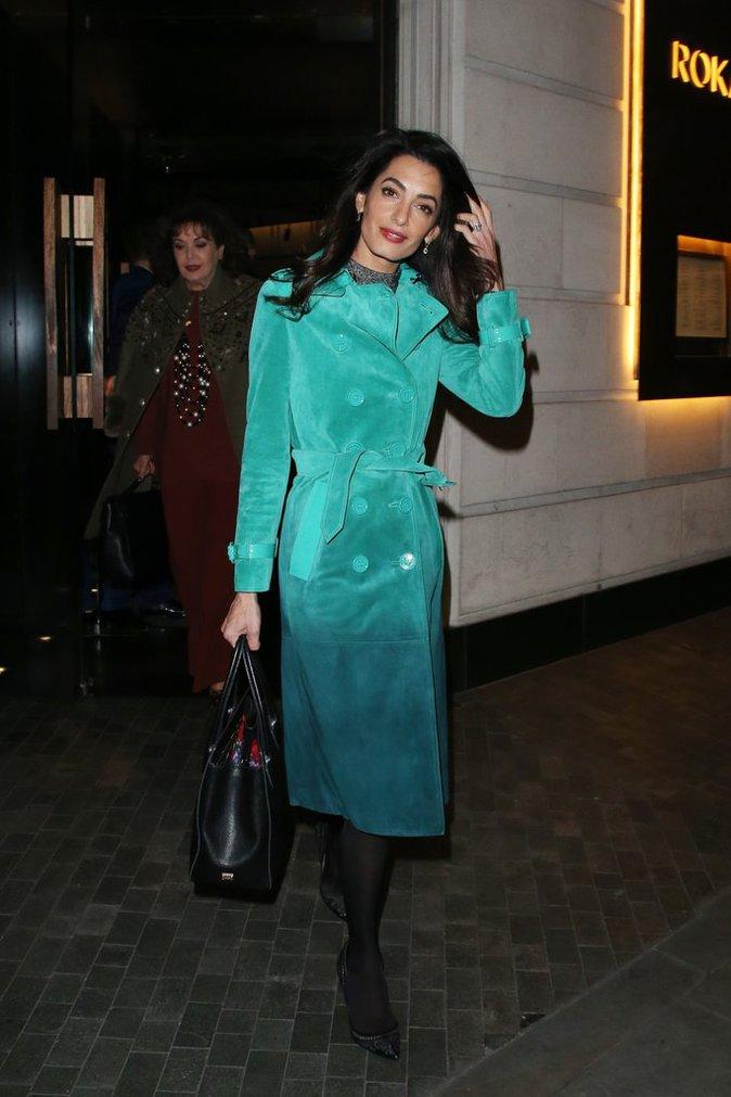Photos : Amal Clooney : toujours prête à dépenser une fortune pour être lookée !