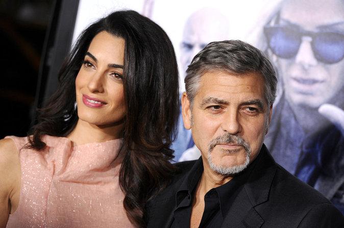 Photos : Amal et George Clooney : amour et glamour sur tapis rouge !