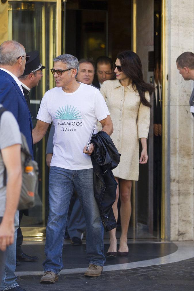 Amal et George Clooney : Leur week-end mouvementé en Italie !
