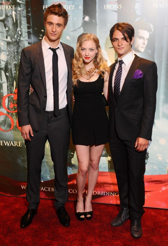 Pas mal Max Irons (le beau gosse à droite d'Amanda) !