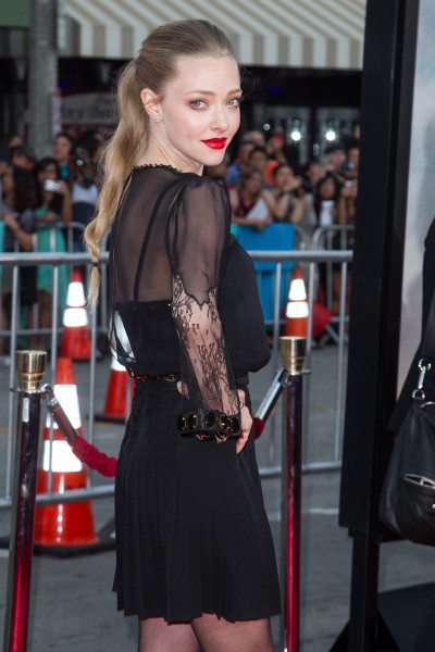 "Amanda Seyfried lors de la première du film ""A Million Ways to Die in the West"" à Westwood, le 15 mai 2014."