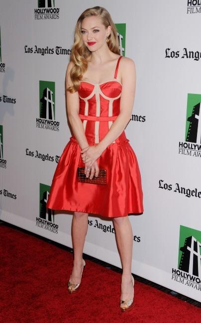 Amanda Seyfried le 22 octobre 2012 à New York