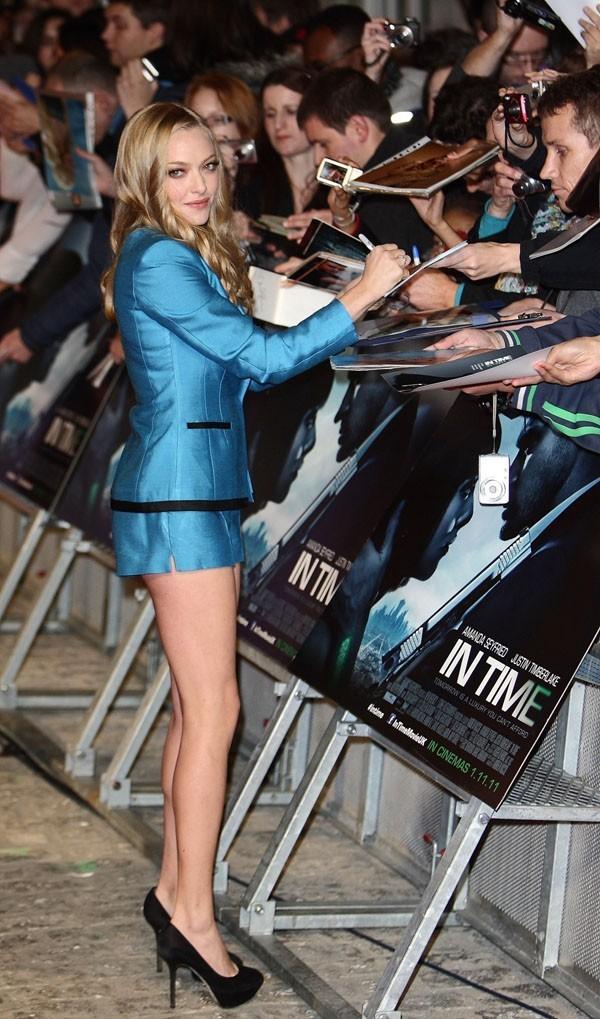 Amanda a ses fans ...