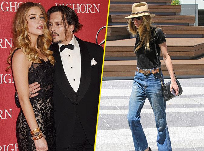 Photos : Amber Heard a perdu près de dix kilos depuis l'annonce de son divorce avec Johnny Depp