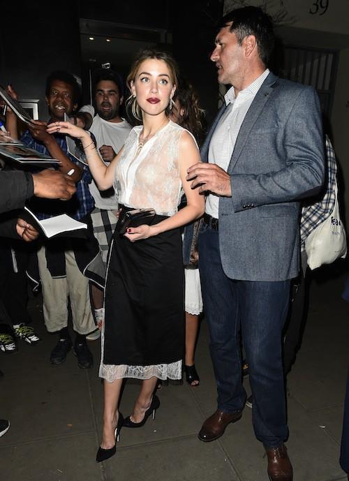 Photos : Amber Heard, Joe Manganiello, Channing Tatum... Immersion nocturne avec les fans !