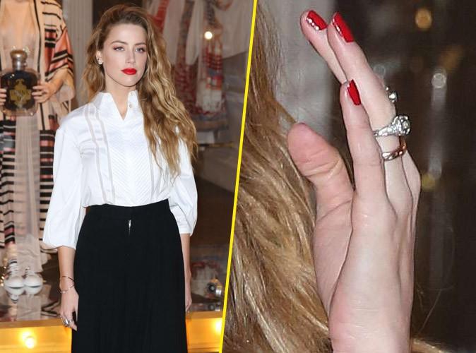 Amber Heard : loin de Johnny Depp, elle dévoile sa sublime alliance !