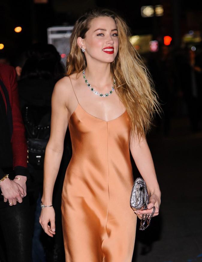 Photos : Amber Heard : tétons en vue pour une soirée sans Johnny Depp !