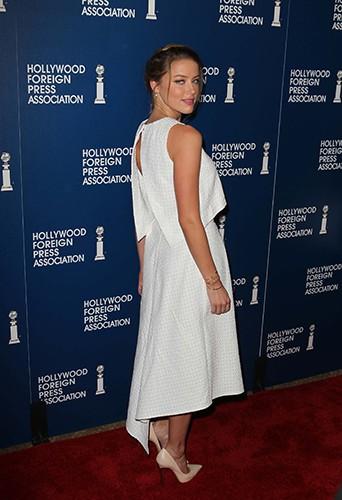 Amber Heard à Beverly Hills le 13 août 2013