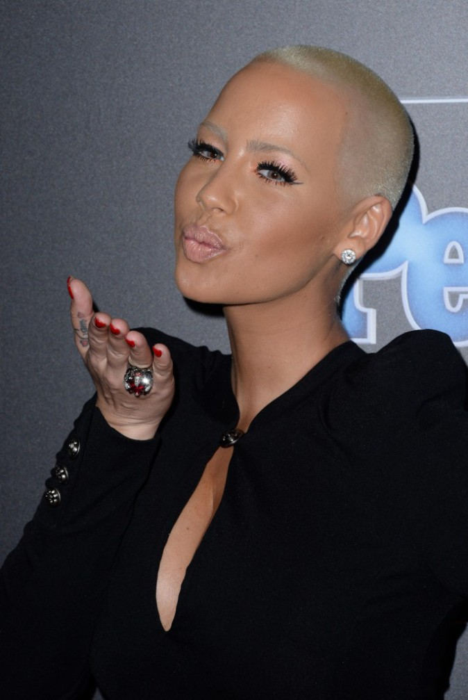 Amber Rose à Los Angeles le 18 décembre 2014
