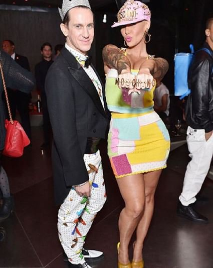 Amber Rose et Jeremy Scott