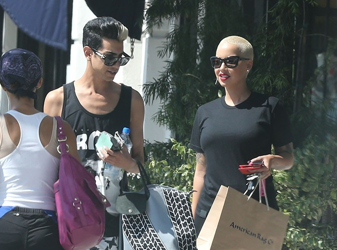 Amber Rose à Los Angeles le 7 juillet 2013